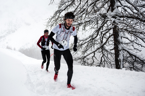 Ubaye Snow trail