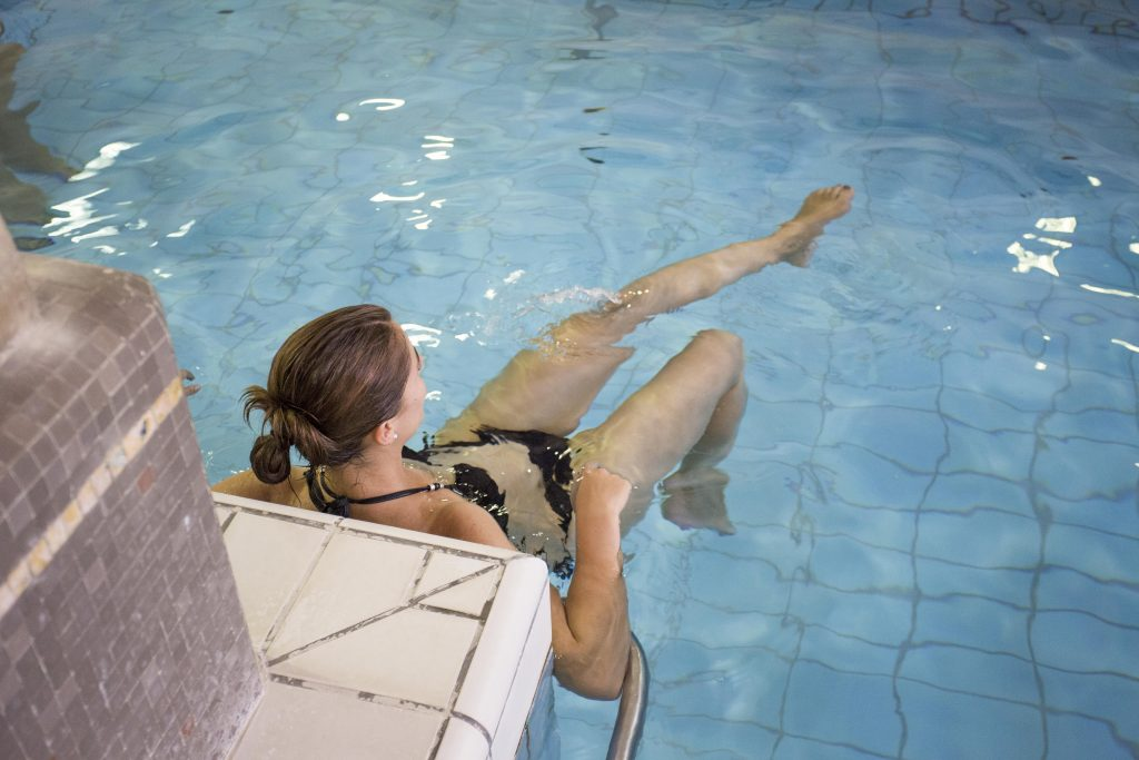 aquagym piscine calodae