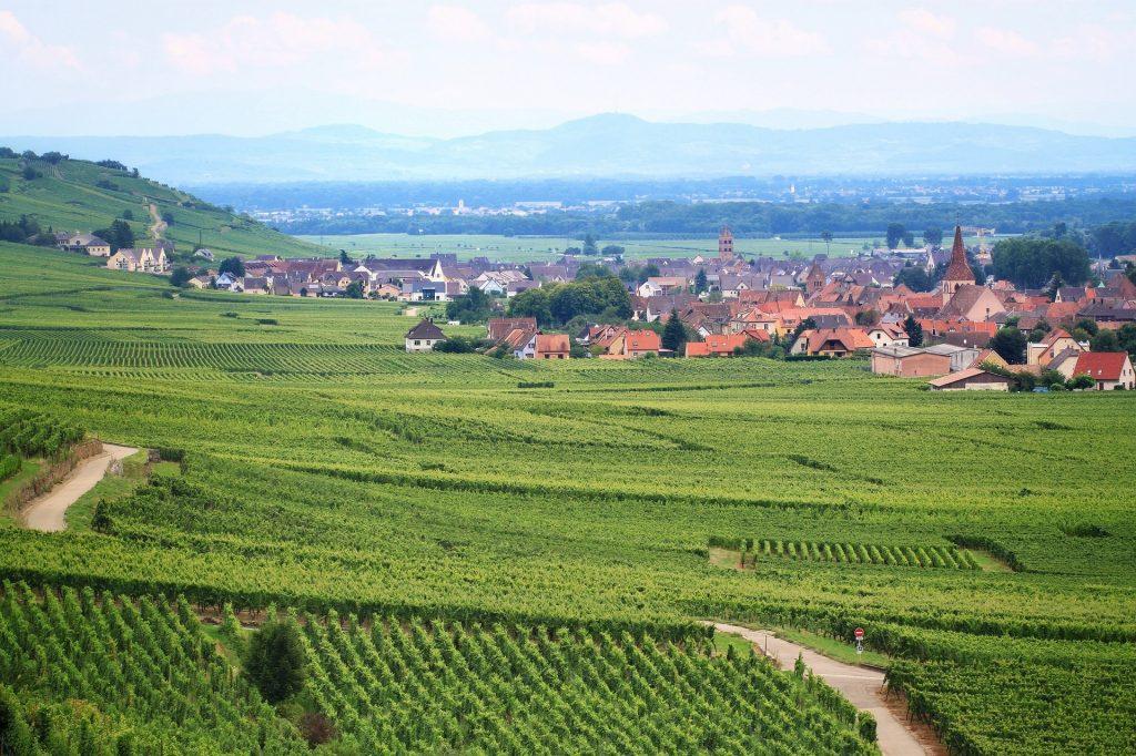 L'Alsace entre vignes et villages, top destination pour un break durant le mois de mai.