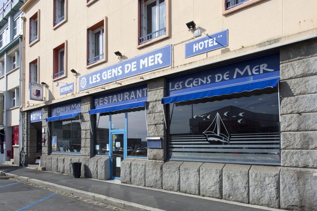 Devanture hôtel GDM Brest