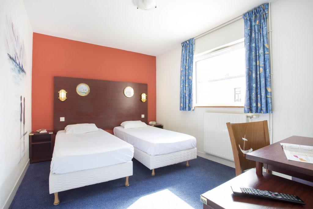Chambre Twin de l'hôtel GDM Brest