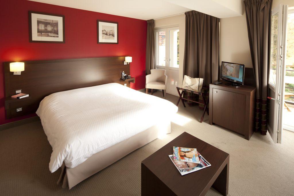 Chambre hôtel du GHH