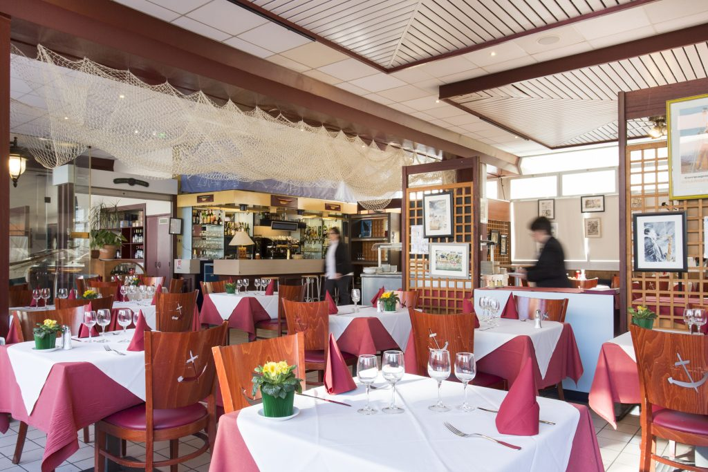 Salle du restaurant des GDM du Havre