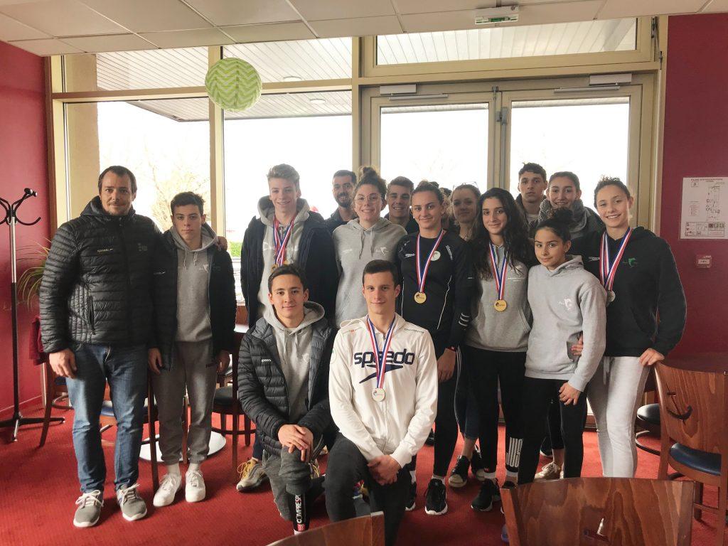 Equipe de natation juniors de Toulouse